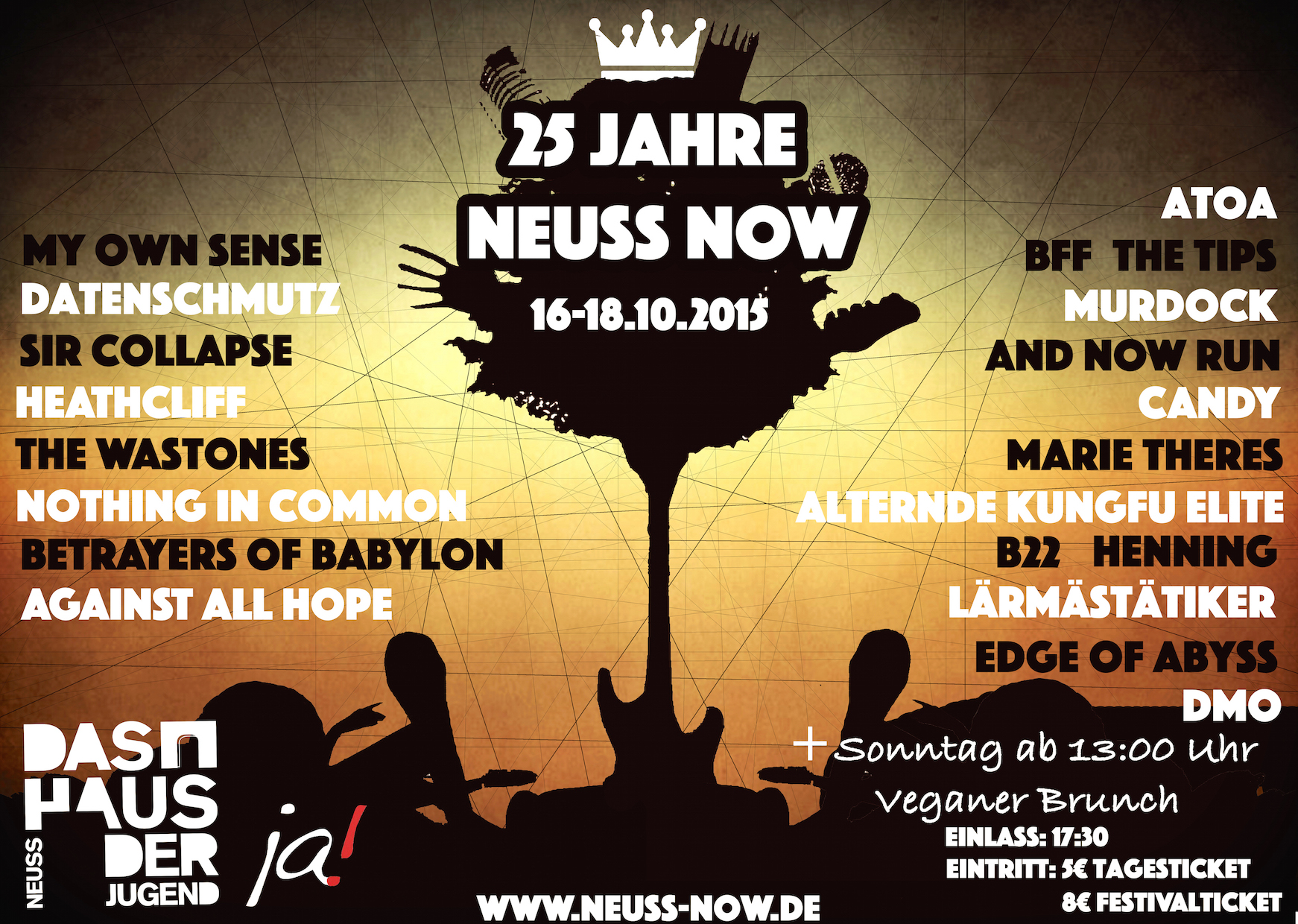 NEUSS NOW 2015 flyer